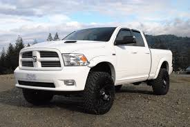 white dodge ram lifted. Simple Lifted Lifted White Dodge Ram 2016 And