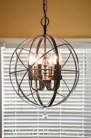 best 25 rustic chandelier ideas on diy chandelier regarding stylish home rustic orb chandelier prepare