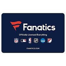 $50 Fanatics Gift Card, 2 pk - BJs WholeSale Club