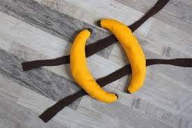 diy dog banana costume