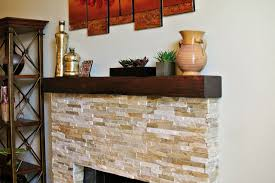 rustic mantel design