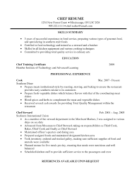 Executive Chef Resume Objective Pastry Chef Resume Objective Sidemcicek 14