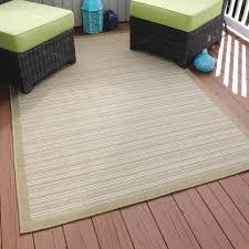 indoor outdoor area rug green cream
