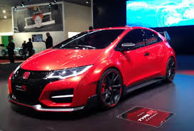 honda civic hatchback 2014. front view of the honda civic type r at 2014 geneva motor show hatchback c