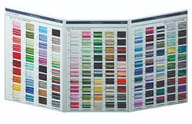 25 Comprehensive Cosmo Floss Color Chart