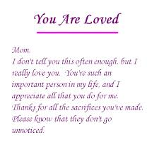 I Love You Mom Quotes Simple Thank You For All You Do Mom And Thank You For Loving Me For Who I