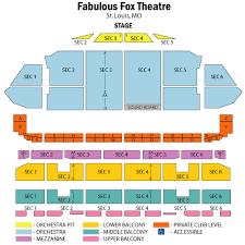 Fabulous Fox Theatre St Louis Tickets Fabulous Fox