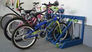 13 simple diy bike rack ideas that look