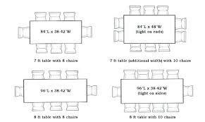 table with 10 chairs table for size amazing awesome average dining room table size