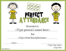 Attendance Maker Free Printable Award Certificate Template My Award Maker Helping