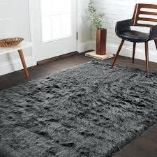 grey fur rug silver orchid martin faux fur black charcoal area rug grey fur rug grey fur rug