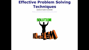 Problem Solving Skills Creative Problem Solving Techniques Youtube
