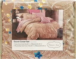 details about premium 100 cotton printed duvet cover set with 2 pillowcases queen king size