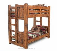 Post & Beam Solid Wood Bunk Bed