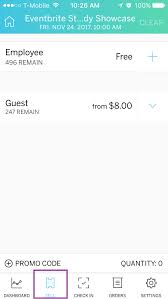 How To Sell Tickets At Your Event With Eventbrite Organizer For Ios