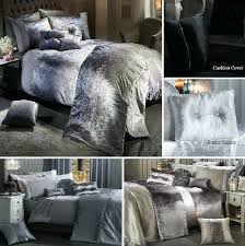 crushed velvet bedding velvet bedding sheets luxury crushed velvet duvet cover set quilt bedding silver grey
