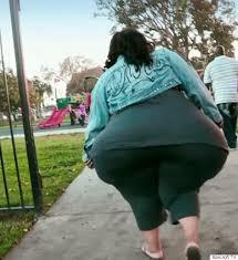 Giant big fat ass