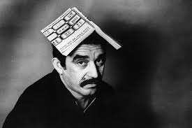"photos gabriel garcia marquez al jazeera america author gabriel garcia marquez poses a copy of his immortal classic ""one hundred years of solitude"" in 1975 in colita corbis"