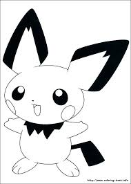 Astonishing Pikachu Coloring Pages Coloring Page Happy Coloring