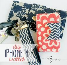diy smart phone wallet sewing tutorial at my3monsters com