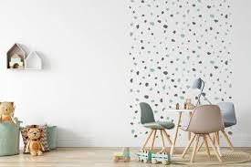 hand drawn dots wall stickers kids room