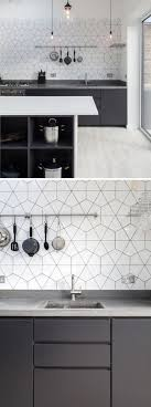 Black And White Kitchen Tiles 25 Best Ideas About White Tile Kitchen On Pinterest Subway Tile