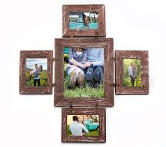 Image Picture Frames Unique Frame With Rusty Next Pinterest Rustic Photo Collage Frame 8x10 And 4x6multi Opening Unique