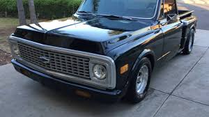 For Sale: 1972 C10 Step Side Short Bed Black V8 350 700r4 ...