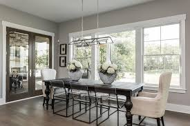 dark brown dining table with see through dining chairs view full size
