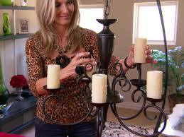 add decorative candle sleeves