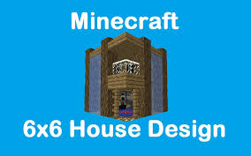 Small Picture Minecraft 6x6 House Design YouTube