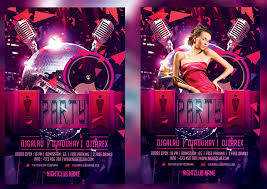 club flyer templates night club flyer template by mihaimcm94 on deviantart