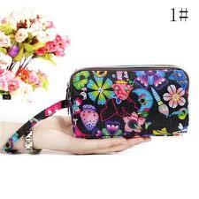 <b>Women's Wallet</b> Short <b>Korean Fashion</b> Vertical Cherry Fringe Zipper ...