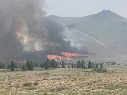 Tamarack Fire Wildfire ...