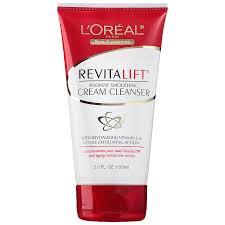 l oreal paris revitalift radiant smoothing wet cream cleanser5 oz