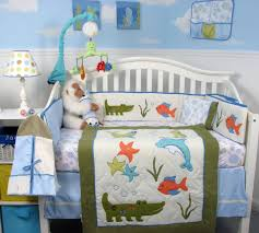 tropical fish baby bedding design ideas under the sea