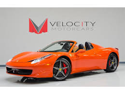 Read expert reviews of the 2014 ferrari 458 spider base from the sources you trust. 2012 Ferrari 458 Spider 458 Spider For Sale In Nashville Tn Stock F188743p