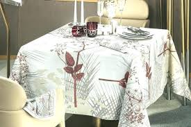 french country table linens tablecloth round dining
