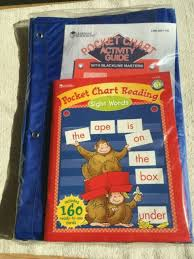 Standard Pocket Chart And Reading Sight Words To Use W Chart Homeschool Teacher