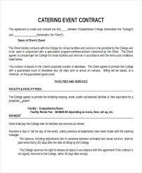 Sample Contracts Rome Fontanacountryinn Com