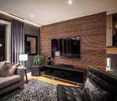 living room grey and white fl pattern wallpaper brown red turkish carpet dark wood chairs with