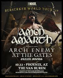 The Noise Presents - <b>Amon Amarth</b> Berserker Tour