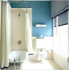 clawfoot tub shower curtain rod tub shower curtain rod you can make yourself 1 liner solution
