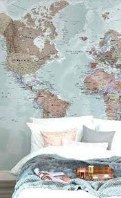 map wallpaper for walls world bedroom wall classic mural uk w