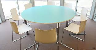 round office desks. colour small round blue meeting tables large office desks c