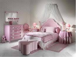 pink furniture in girly bedroom ideas