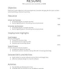Resume Examples Formats Resume Format And Examples Free Resume Samples For Freshers Packed