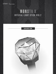 In Stock Led Kpop Monsta X Light Stick Ver2 Official 2018 New Stick
