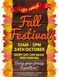 Fall Festival Flyer Free Template 170 Customizable Design Templates For Carnival Postermywall
