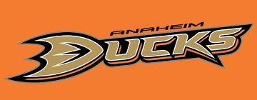font of the anaheim ducks logo
